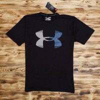 Kaos Fitness Under Armour Threadborne Logo Original Asli
