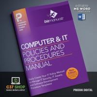 TEMPLATE SOP IT Policies and Procedures Manual | BizManualz