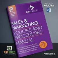 TEMPLATE SOP Sales Marketing Policies & Procedures Manual | BizManualz