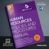 TEMPLATE SOP Human Resources Policies and Procedures HRD | BizManualz
