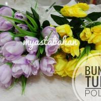 Bunga Tulip Polos