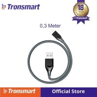 Tronsmart 19AWG Double Braided Lightning Cable 0.3M(1ft) [LTA24] G