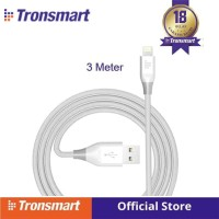 Tronsmart 19AWG Double Braided Lightning Cable 3M(10ft) [LTA08] W