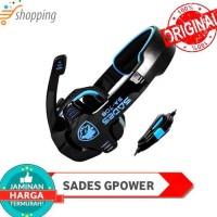 SADES SA-708 BONUS Splitter G-Power Gaming Headset