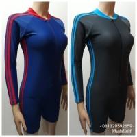 Baju Renang Diving Dewasa Unisex lengan panjang celana pendek