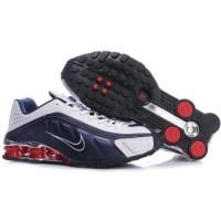Nike Shox R4 Navy White