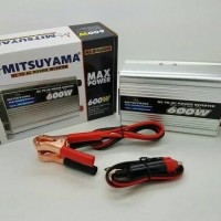 Power Inverter 600W Mitsuyama Power Inverter 12V DC Ke AC 600Watt