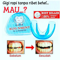 ALIGNMENT TRAINER DESSA DENTAL USA BIRU - BEHEL GIGI - PERAPI GIGI