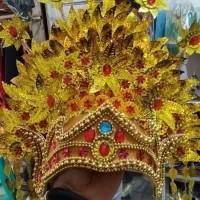 sunting padang ekslusif tari adat nusantara karnaval pawai mahkota