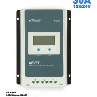 Solar Charge Controller 30 30A EPEVER TRACER 3210A LCD REAL MPPT 12 24