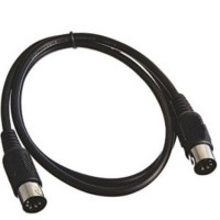 KABEL MIDI 5 PIN MALE MALE 2 METER STRAIGHT ASSEMBLY
