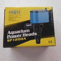 Mesin pompa akuarium Power heads aquarium Amara Sp 1200 A SP1200A