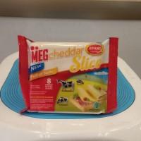MEG cheddar Slice 8's