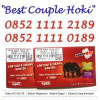 Nomor Cantik Telkomsel Kartu AS Puas 4G LTE Hoki 0852 1111 189