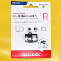 Harga ori 32gb sandisk dual drive m3 0 speed up to 150mb s for | antitipu.com