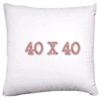 Isi Bantal Sofa kursi Insert 40 x 40 cm Silicon Kain Polyester
