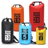 `Promo Dry Bag 5L 10L 20L ( Ocean Pack ) - Dua Liter