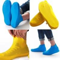 Silikon Silicon Cover Shoes Jas Sepatu Karet Latex Waterproof - Tinggi