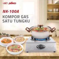 Niko NK-100A / NK100A kompor gas 1 tungku / kompor stainless steel
