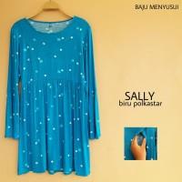 Baju Hamil Blouse Atasan Lengan Panjang Hamil Dan Menyusui Sally
