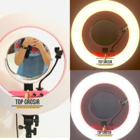Bi Color Colour Ringlight Ring Light Lampu Makeup