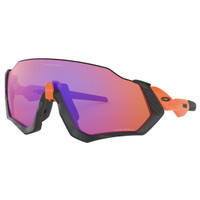 Oakley Sunglass FLIGHT JACKET | OO9401-04 | Matte Orange w/ Prizm Road