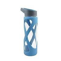 Lock&Lock Borosilicate Glass Bottle X Botol Kaca 510ml LLG931