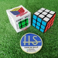 Rubik Magic Cube YongJun 3x3 GuanLong, Black Base, Sticker