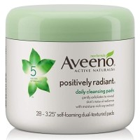 Aveeno Positively Radiant Exfoliating Daily Cleansing Pads