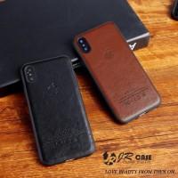 iPhone 6 Plus Executive Leather Skin Soft Back Cover Case Casing Kulit