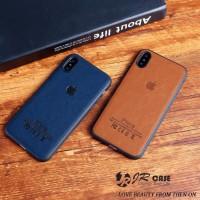 iPhone 6 Executive Leather Skin Soft Back Cover Case Casing Kulit Slim
