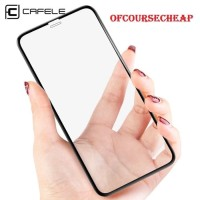 CAFELE iPhone X iPhone XS - Tempered Glass Full Cover - Anti Gores -