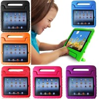 iPad Air 2 6 2018 Kids Soft Foam Case Handle Back Cover Stand Armor