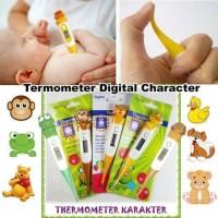 Termometer Karakter Kartun Hewan / Digital Thermometer Anak Bayi -X455
