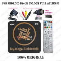 STB Android ZTE ZXV10 B860H 4K Unlock full HD Plug and Play