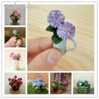 Biji Bibit benih tanaman bunga parfum mini Hydrangea bonsai