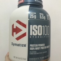 DYMATIZE ISO 100 5 LBS WHEY PROTEIN