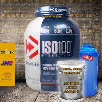 DYMATIZE: ISO 100 1 LBS ECERAN/REPACK WHEY PROTEIN TERBAIK ISO100