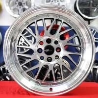 Velg mobil Ring 17 HSR Paddock JD3042 Racing celong Honda Jazz Yaris