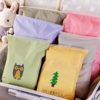 Harga 259 tas pouch bahan tahan air organizer pakaian dalam | antitipu.com