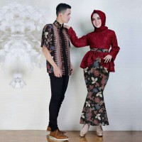 Couple Anisa/couple muslim/couple batik/couple kebaya/couple lebaran