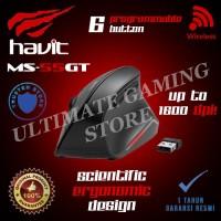 Havit HV-MS55GT Wireless Vertical Ergonomic Mouse