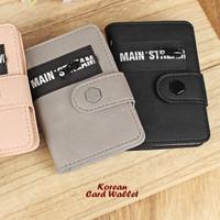 Dompet Kartu Korean Style Dompet Pria Mainstream isi 20 Slot - KDP003
