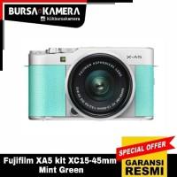 Fujifilm XA5 kit XC15-45mm Mint Green