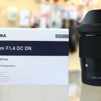 Sigma 16mm f1.4 DC DN Sony E Mount