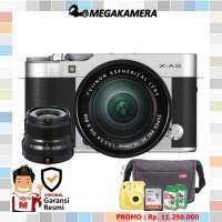 Harga fujifilm x a3 kit 16 50mm 1 lensa fujinon kamera mirrorless fuji   Pembandingharga.com