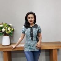 Blouse Batik Katun Cirebon Brand Batik Muda - BAAB7206