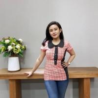 Blouse Batik Katun Cirebon Brand Batik Muda