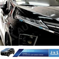 Mitsubishi Xpander List LED Depan JSL / LED Position Chrome JSL