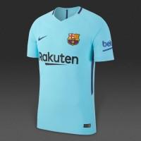 04fce28738d16e Nike FC Barcelona 17 18 Away Vapor Match SS Shirt - Polarized Blu
